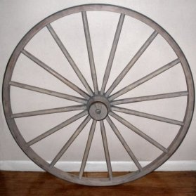 Click To View Large Image Of Wagon Wheel