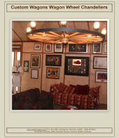 Click to view or download  wagon wheel chandelier catalog